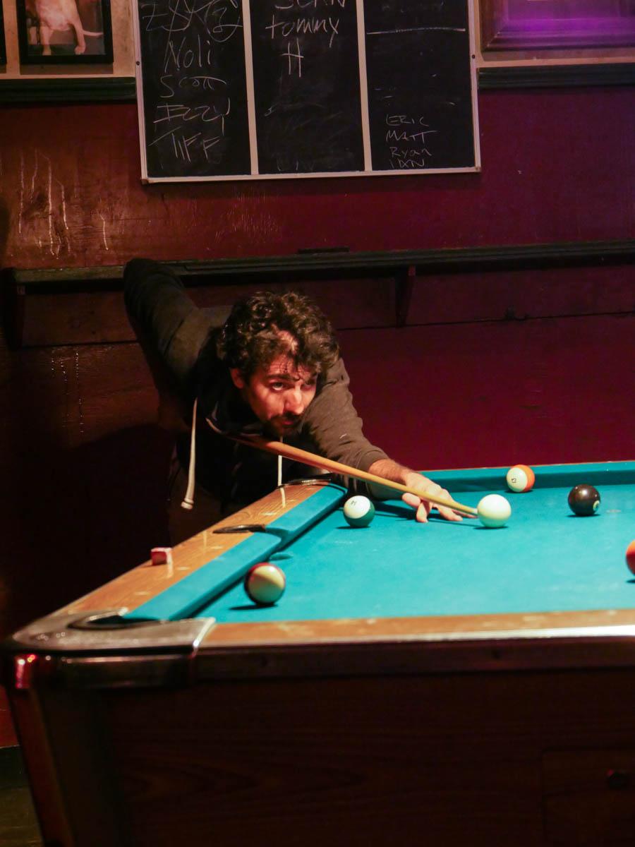 George pool