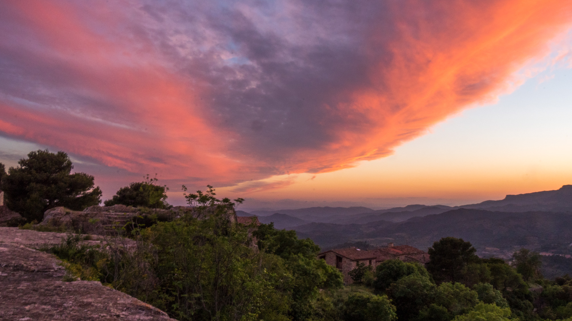 Siurana Red Sunset