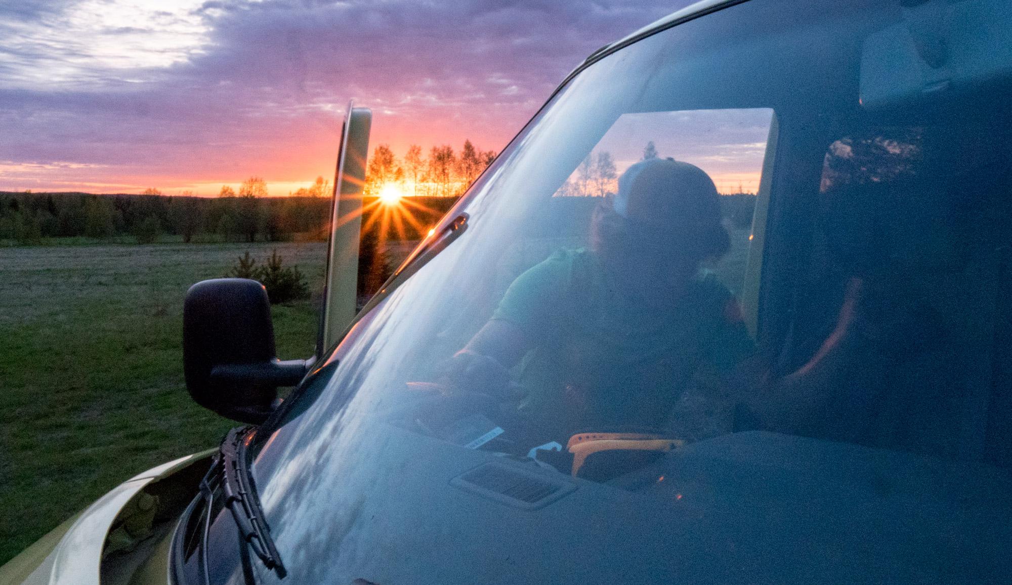 Martin sunset