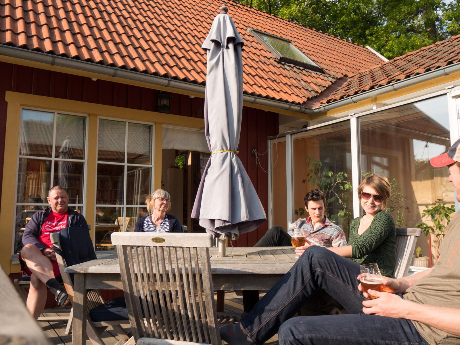 Dag, Ebba, Erik, Disa & I