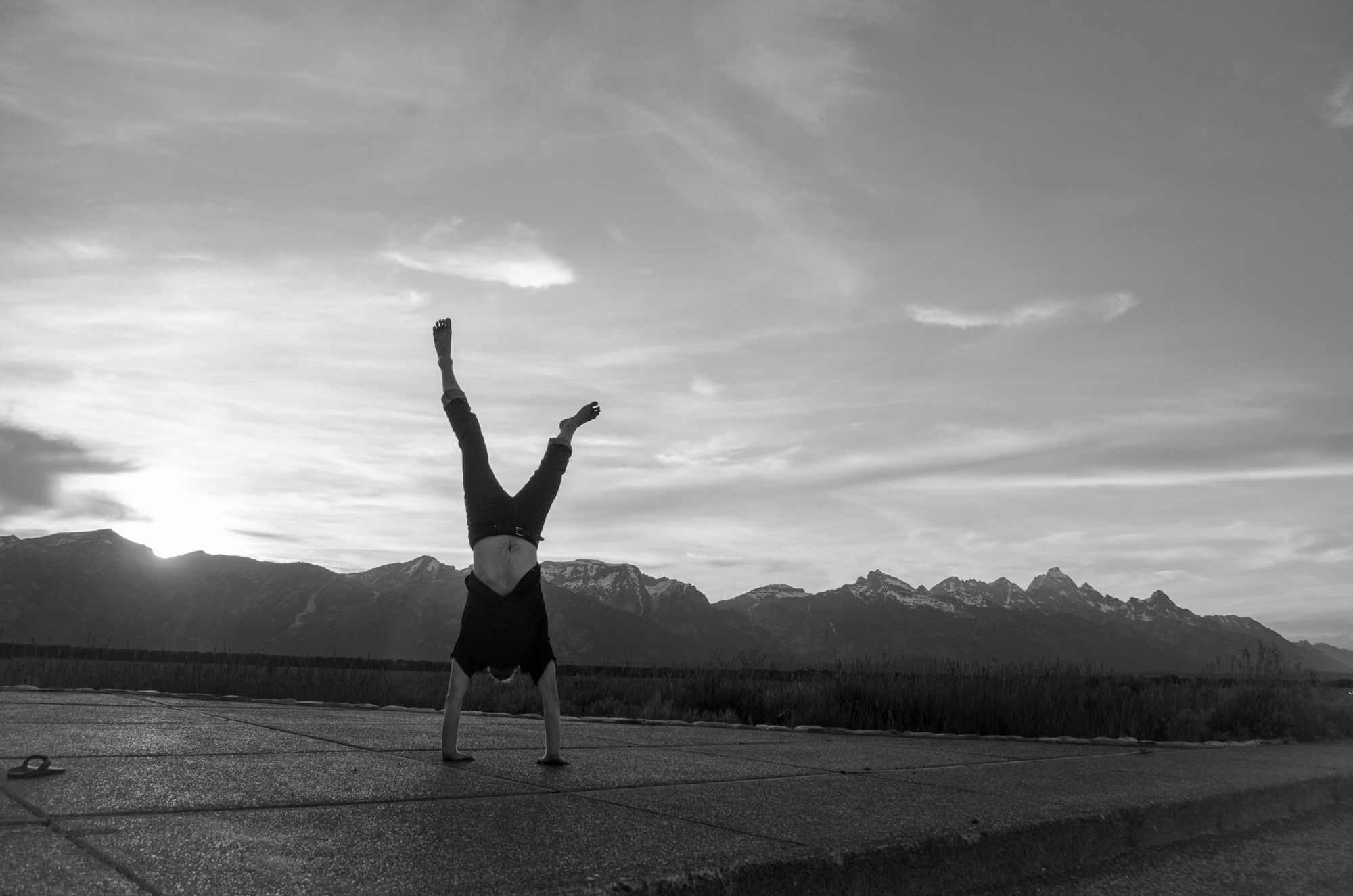 Mountain handstand