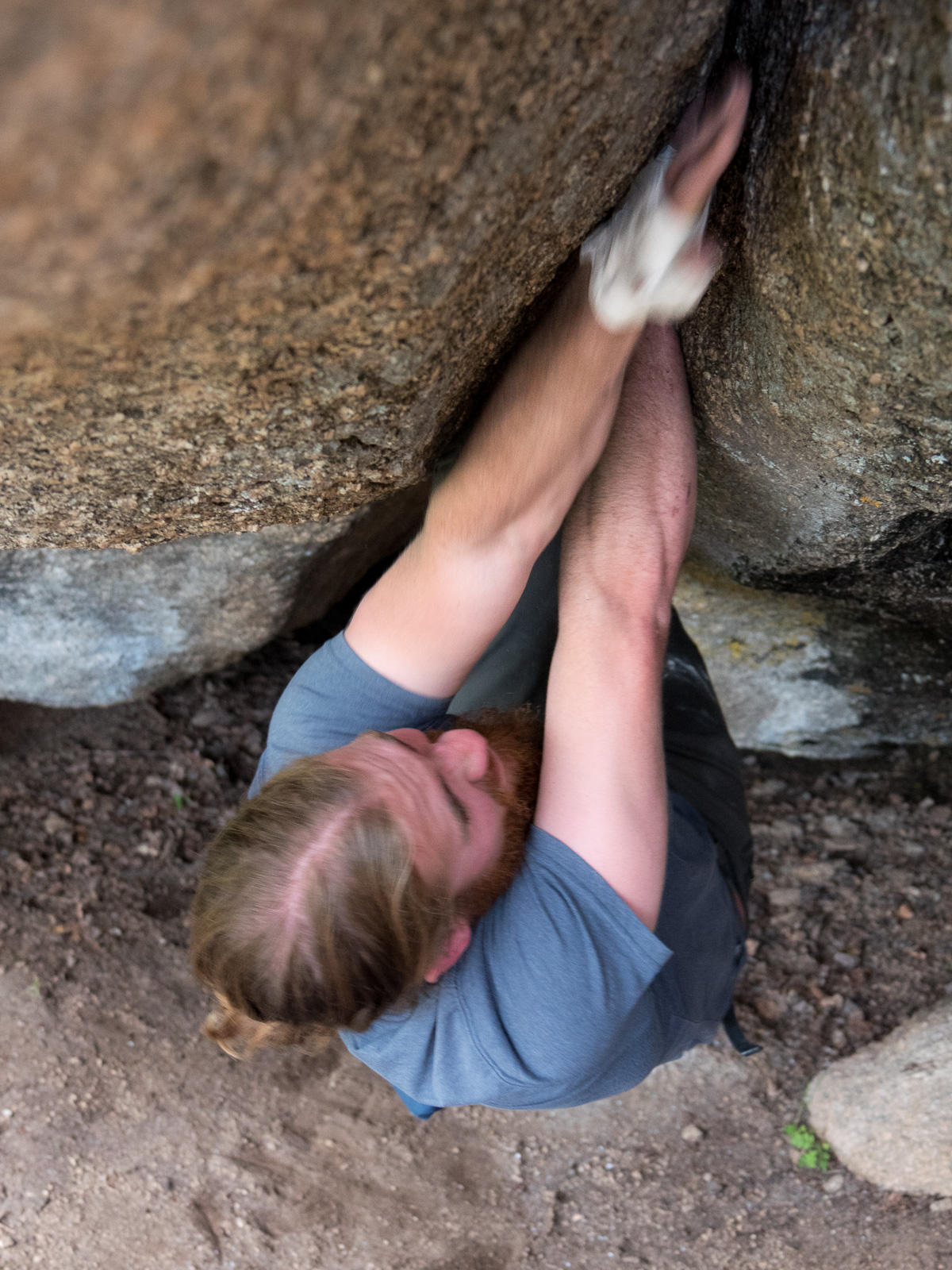 Ken Hilton on Beer Crack, V3