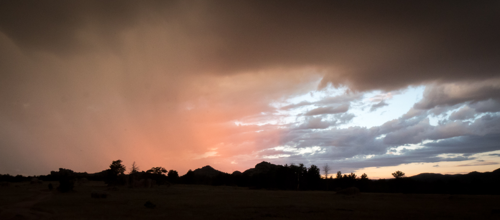 Rainy Sunset at Vedauwoo