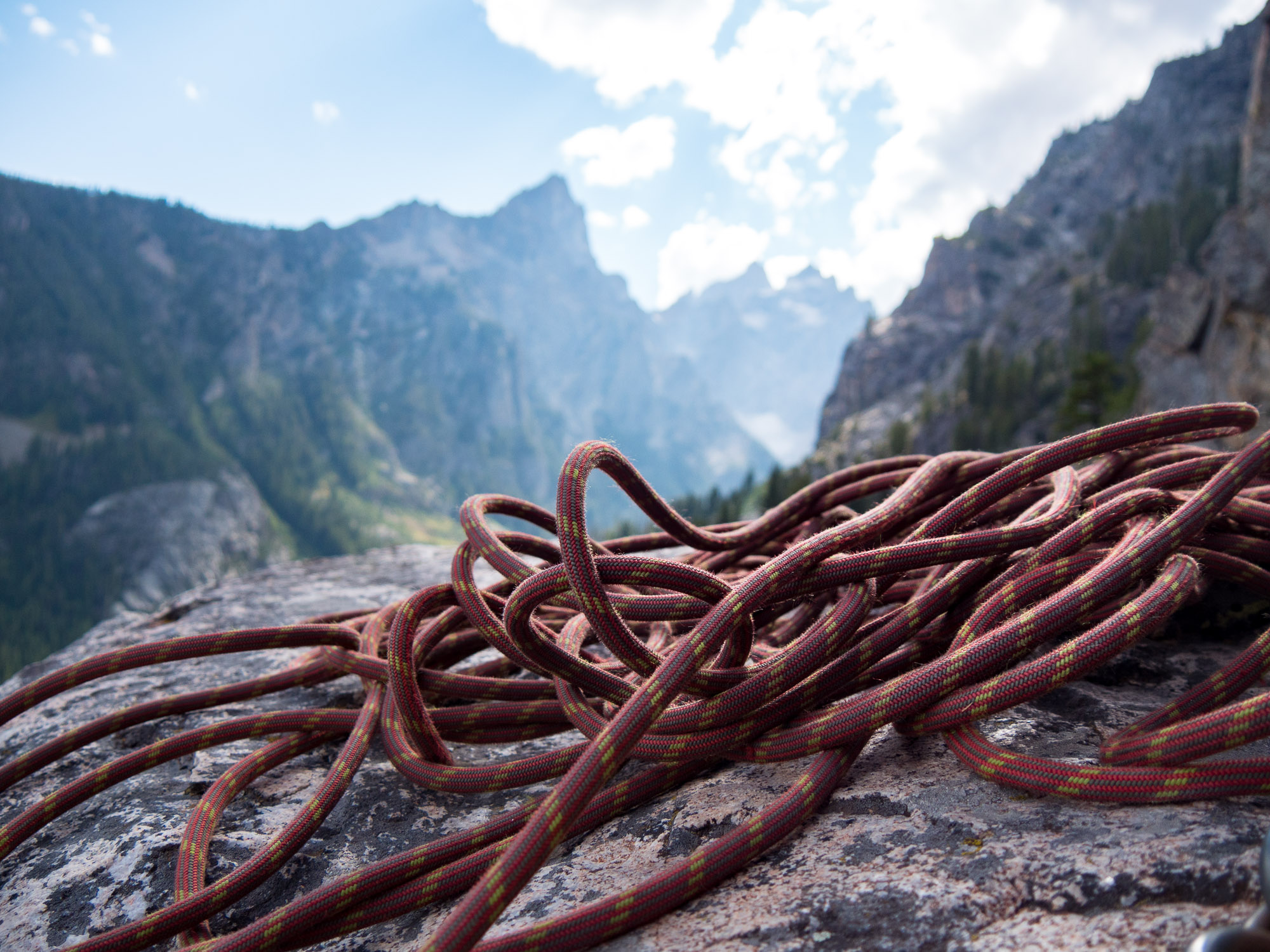 Cascade Canyon Rope