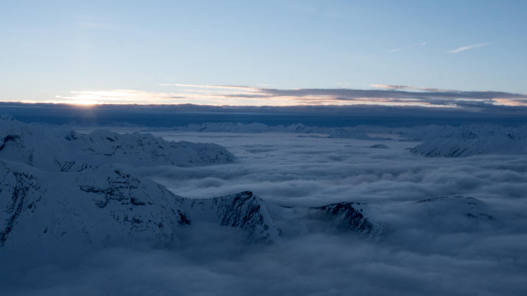 Sunset cloudscape 1