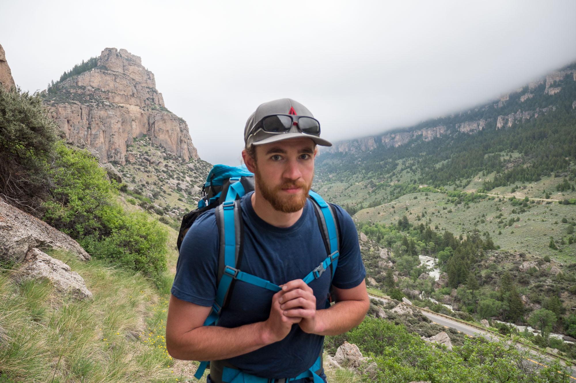 ken hiking