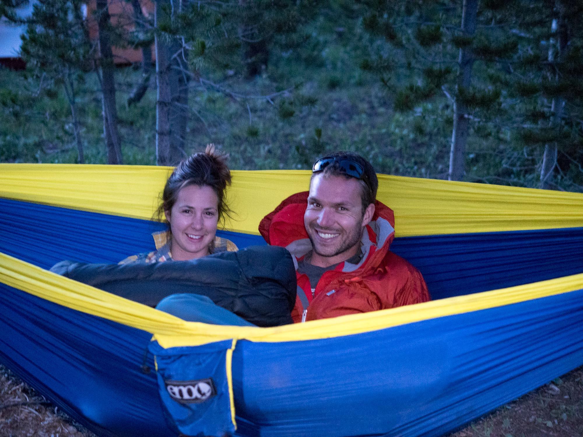 hammock snuggles
