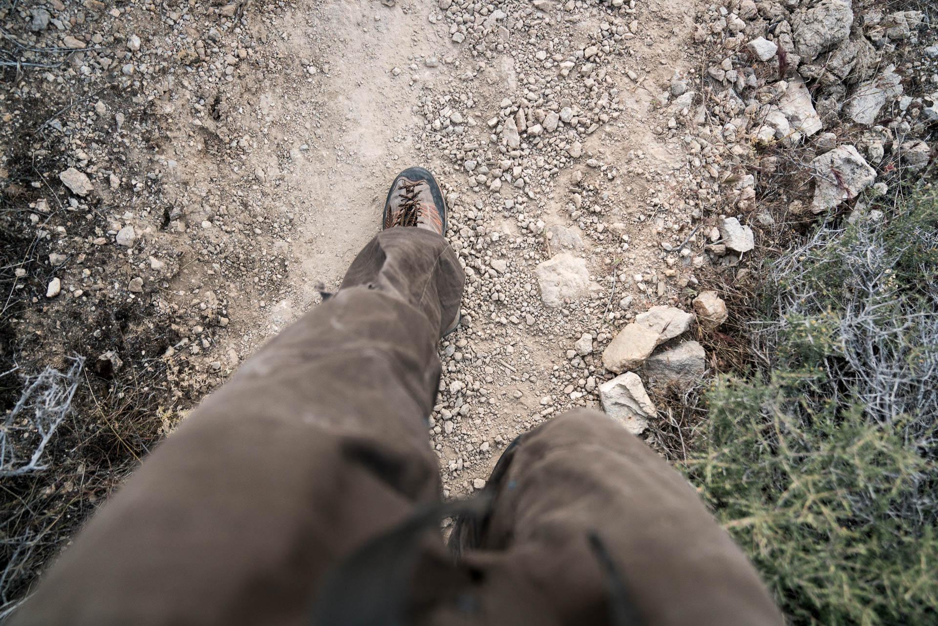 hiking legs