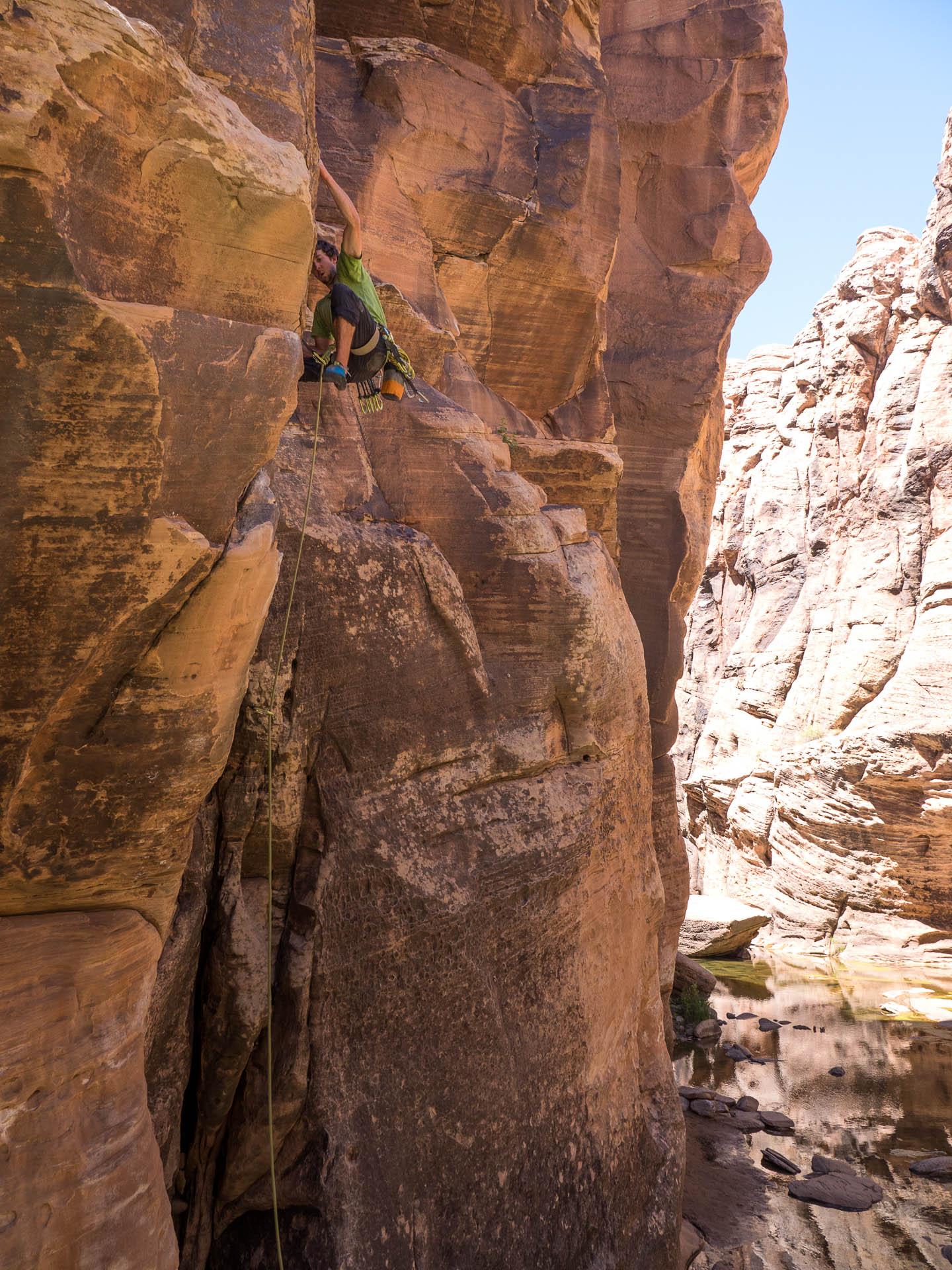 cam climbing
