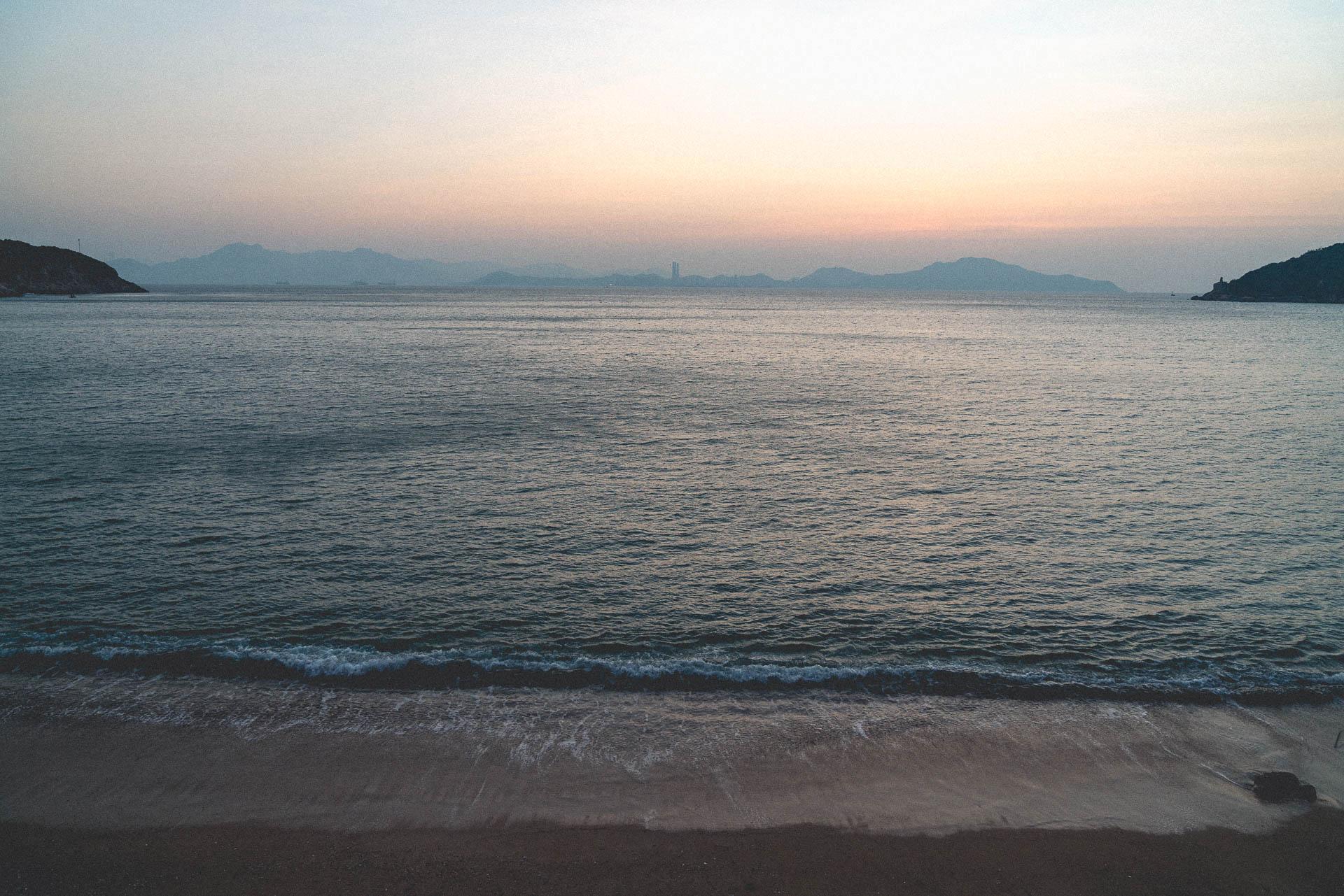 pre sunrise beach