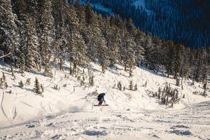 Resort Skiing Teton Pass